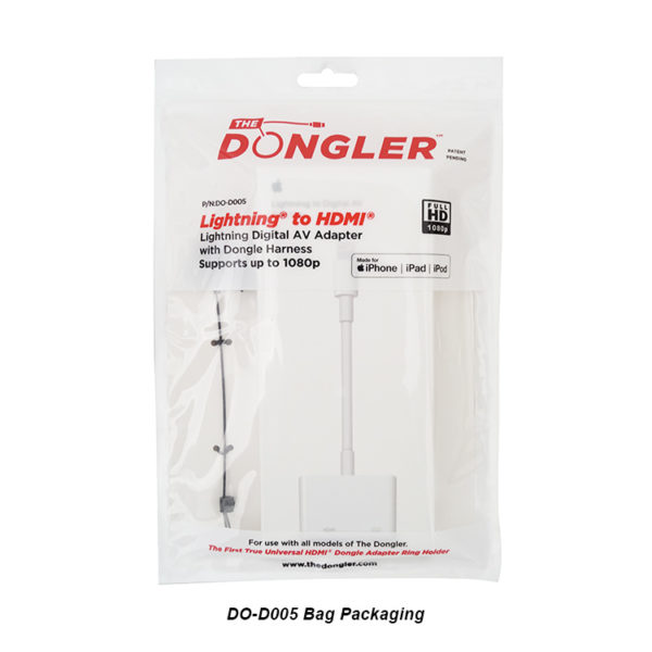 DO-D005 - Bag Packing - Lightning to HDMI