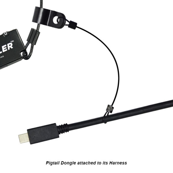 Pigtail Dongle Attached To Its Harness - DO-H001
