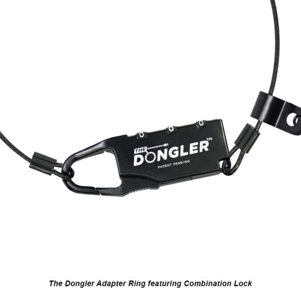 Adapter Ring Featuring Combination Lock - The Dongler™ Unloaded - DO-U001