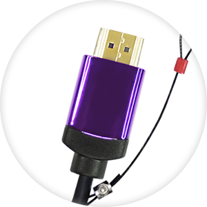 HDMI CABLE HARNESS - The Dongler™ is attached to the HDMI cable infrastructure using our HDMI Cable Harness.